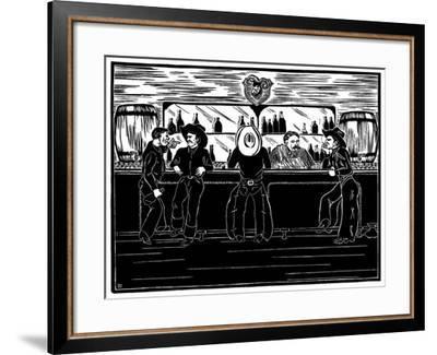 Bar Room Ballads-Frank Redlinger-Framed Art Print