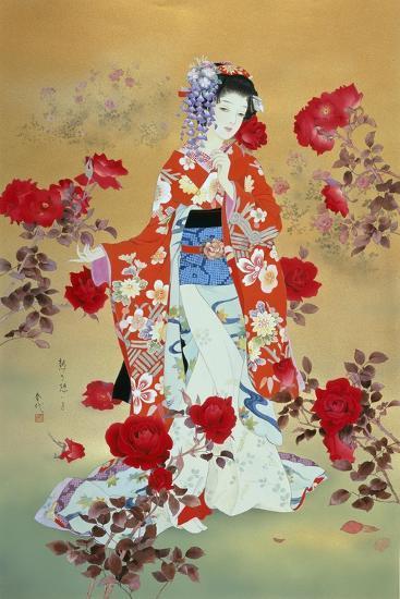 Bara-Haruyo Morita-Art Print
