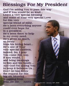 Barack Obama Blessings for My President