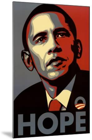 Barack Obama (Hope, Shepard Fairey Campaign) Art Poster Print