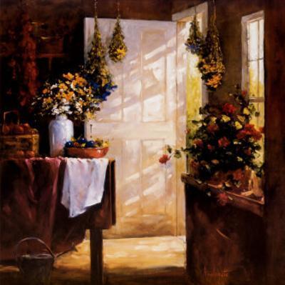 Drying Herbs by Barbara Applegate
