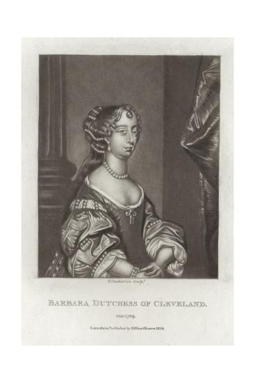 Barbara, Duchess of Cleveland-Sir Peter Lely-Giclee Print