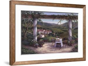 Afternoon in the Vineyard by Barbara Felisky