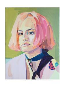 In the pink', 2018, by Barbara Hoogeweegen