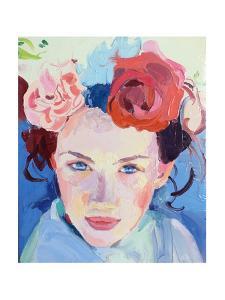 Roses are red', 2018, by Barbara Hoogeweegen