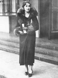 Barbara Hutton, Woolworth Heiress, in London, November 1932