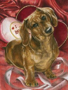 Dachshund Love by Barbara Keith