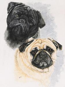 Pugs by Barbara Keith