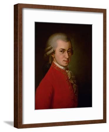 Wolfgang Amadeus Mozart, Posthumes Portrait, 1819