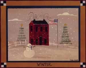 Winter In The Country by Barbara Lovendahl