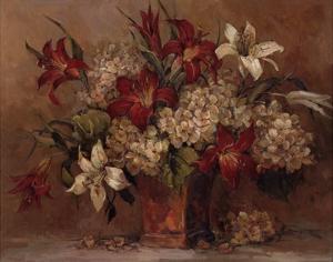 Autumn Lilies by Barbara Mock