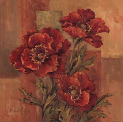 Poppies Terra Cotta