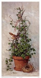 Spring Nesting I by Barbara Mock