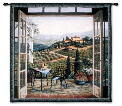 Balcony View of the Villa
