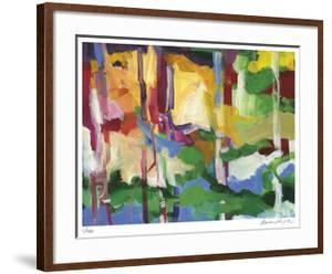 Abstract Grove 1 by Barbara Rainforth