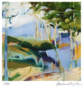 Abstract Landscape 1 by Barbara Rainforth