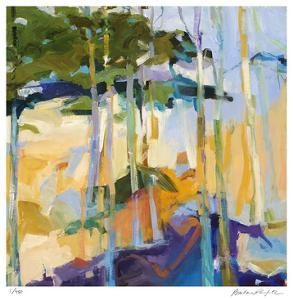 Abstract Landscape II by Barbara Rainforth