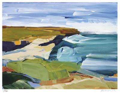Ocean Bluffs by Barbara Rainforth