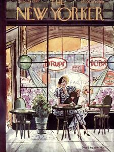 The New Yorker Cover - June 29, 1935 by Barbara Shermund