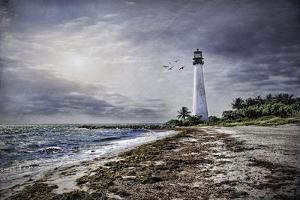 Key Biscayne Lighthouse by Barbara Simmons