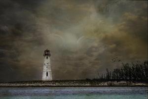 Paradise Island Lighthouse by Barbara Simmons