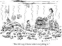 """Surprise! It's my birthday."" - New Yorker Cartoon-Barbara Smaller-Premium Giclee Print"