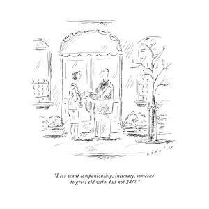 New Yorker Cartoon by Barbara Smaller
