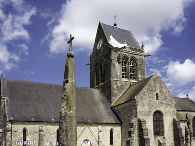 Church at Ste Mere Eglise, One of the First Towns Liberated During the D-Day Landings