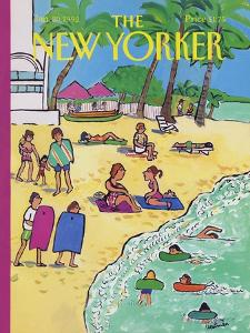 The New Yorker Cover - January 20, 1992 by Barbara Westman