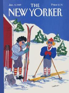The New Yorker Cover - January 9, 1989 by Barbara Westman