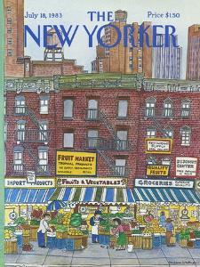 The New Yorker Cover - July 18, 1983 by Barbara Westman
