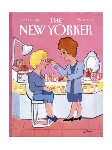 The New Yorker Cover - June 11, 1990 by Barbara Westman