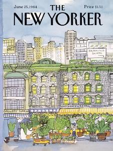 The New Yorker Cover - June 25, 1984 by Barbara Westman