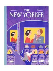 The New Yorker Cover - May 20, 1991 by Barbara Westman