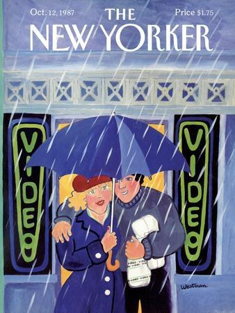 The New Yorker Cover - October 12, 1987