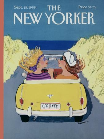 The New Yorker Cover - September 18, 1989