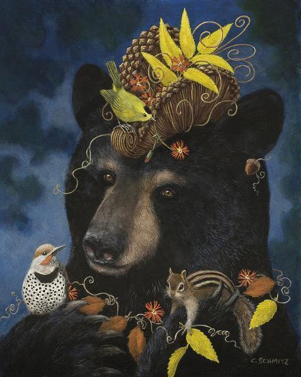 Barbeara's Elegant Hat-Carolyn Schmitz-Giclee Print