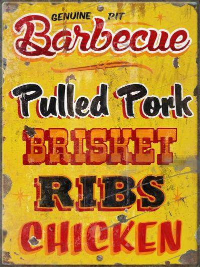 Barbeque Genuine Pit Trashed-Retroplanet-Giclee Print