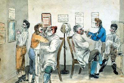 Barber's Shop--Giclee Print