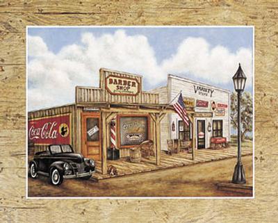 Barber Shop-Kay Lamb Shannon-Art Print