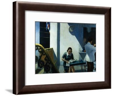 Barber Shop-Edward Hopper-Framed Giclee Print
