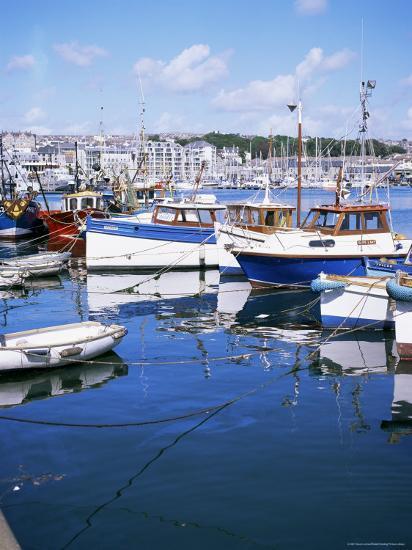 Barbican, Plymouth, Devon, England, United Kingdom-David Lomax-Photographic Print
