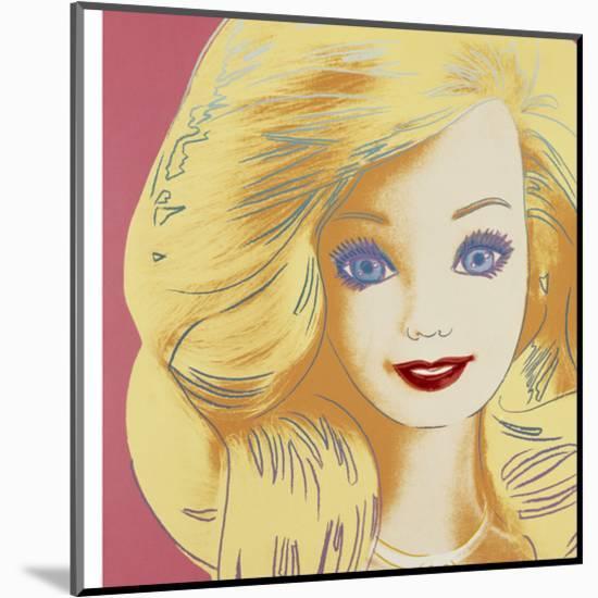 Barbie, 1986-Andy Warhol-Mounted Art Print
