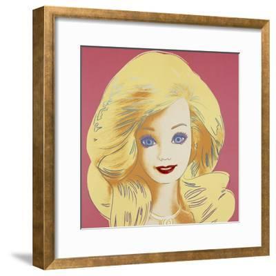 Barbie, 1986-Andy Warhol-Framed Giclee Print