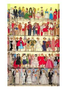 Barbie Doll Collection, Retro