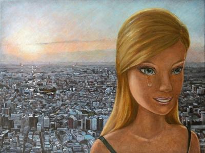 Barbie in Twilight, 2012-Emiko Aida-Giclee Print
