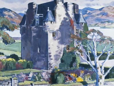 Barcaldine Castle, Argyll-Francis Campbell Cadell-Giclee Print