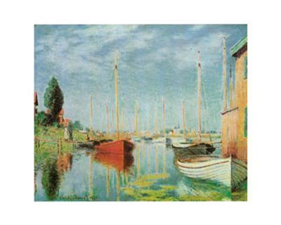 Barche Sportive-Claude Monet-Art Print