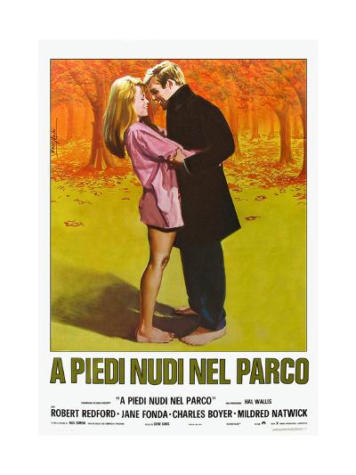 Barefoot in the Park, Italian Movie Poster, 1967--Art Print