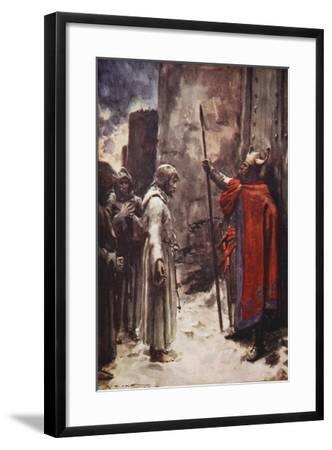 Barefoot-Arthur C. Michael-Framed Giclee Print